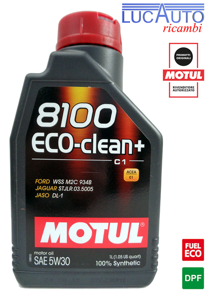 MOTUL 8100 ECO CLEAN+ 5W30